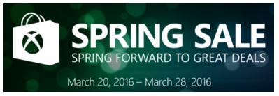 L'Xbox Spring Sale è stata svelata in anticipo?