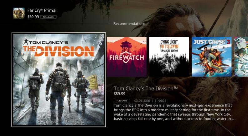 Il PlayStation Store si rifà il trucco, ma per poco