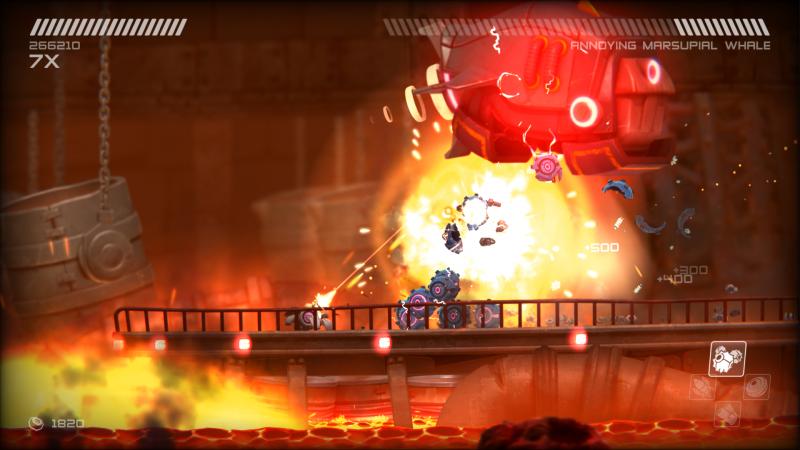 Lo sparatutto RIVE arriva su Switch quest'anno, dopo la cancellazione della versione Wii U