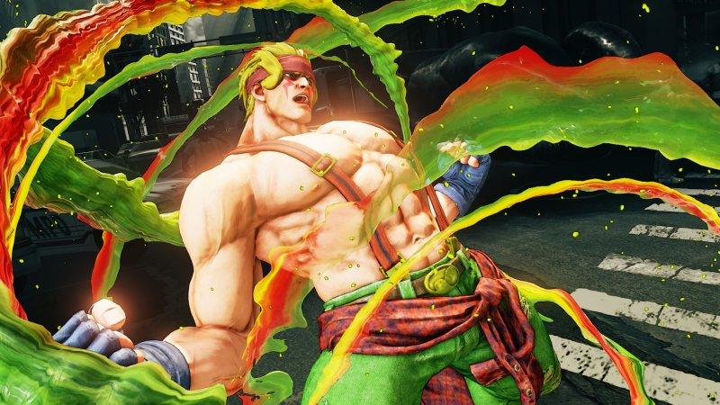 Prime immagini e dettagli per Alex e l'aggiornamento di marzo per Street Fighter V