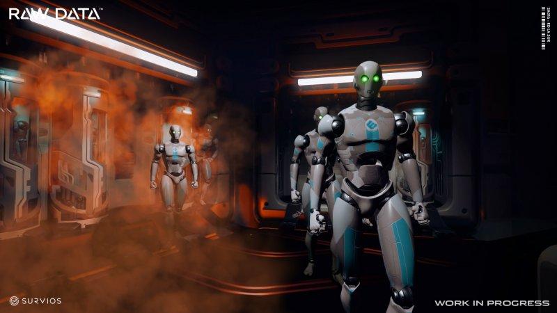 Raw Data è il primo gioco solo per Realtà Virtuale a raggiungere la cima della classifica Steam