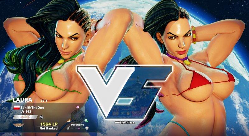 L'inevitabile nude mod di Street Fighter V è una realtà