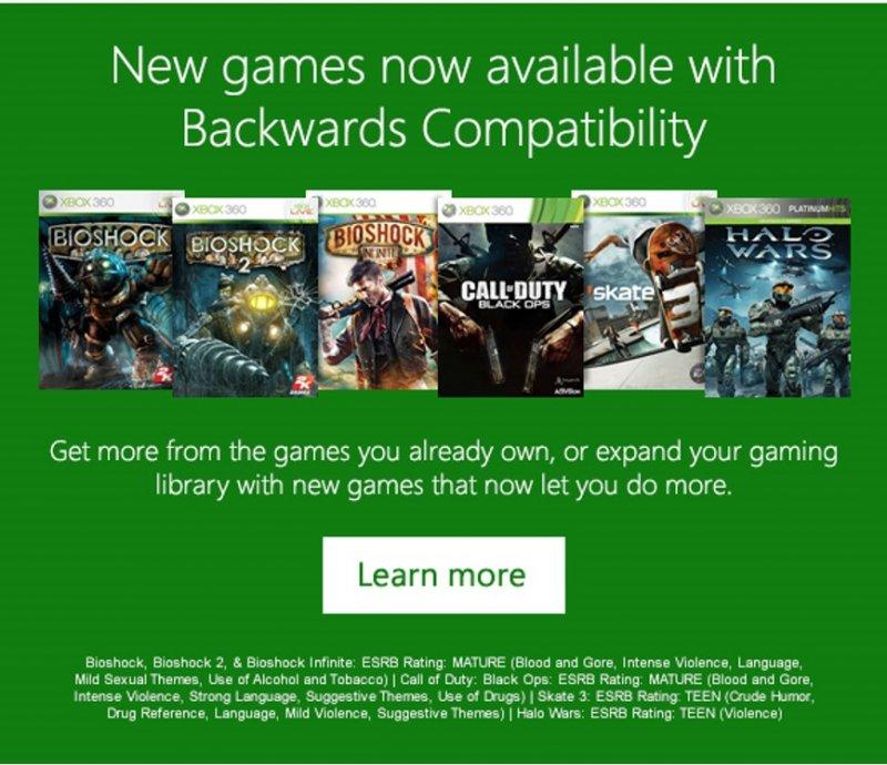 Call of Duty, Skate 3 e la trilogia di BioShock potrebbero arrivare presto nel catalogo dei retrocompatibili Xbox One