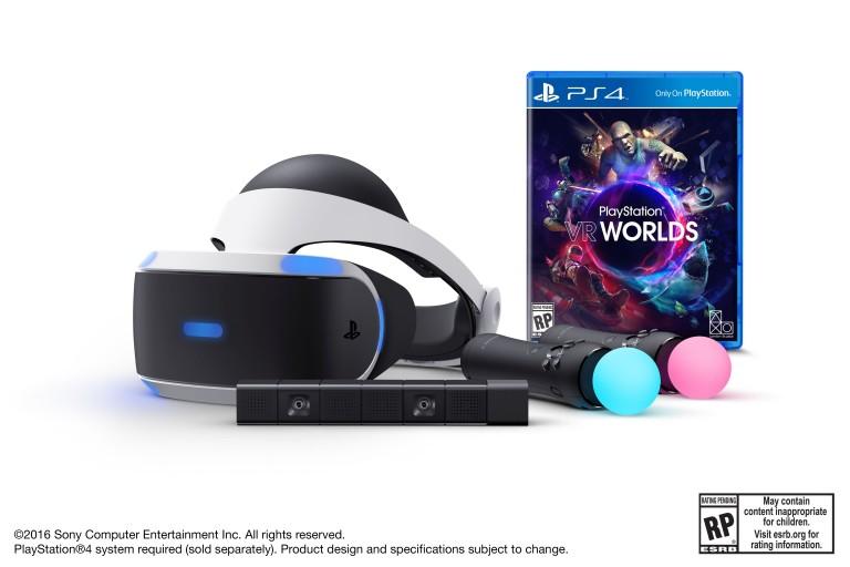 Prenotazioni dal 22 marzo in nord America per il PlayStation VR Launch Bundle