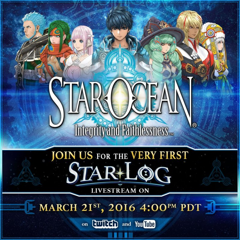 Previsto per il 21 marzo il primo streaming occidentale per Star Ocean: Integrity and Faithlessness