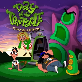 Day of the Tentacle Remastered per PlayStation 4