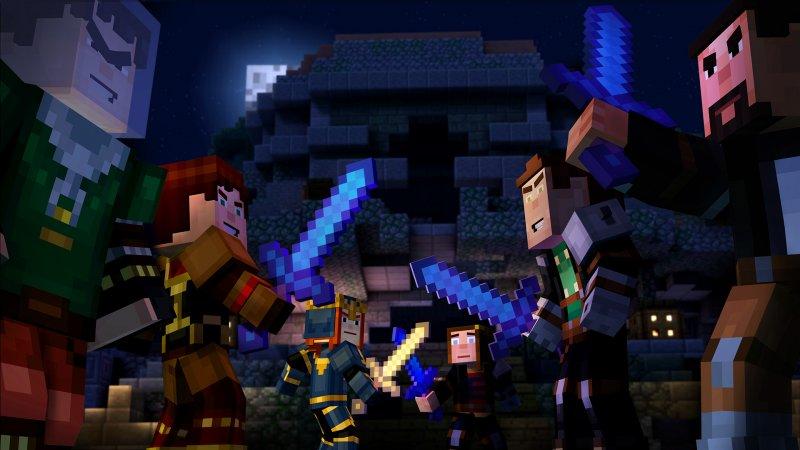 Lancio a partire dal 29 marzo per Minecraft: Story Mode – Episode 5, altri tre episodi previsti