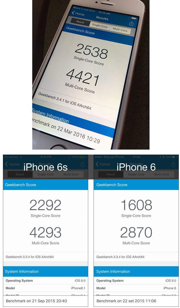 Stando ai primi test iPhone SE è il più veloce iPhone di sempre