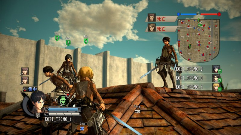 Attack on Titan arriva in Europa con il titolo A.O.T. Wings of Freedom, anche su Xbox One e PC oltre che su PlayStation