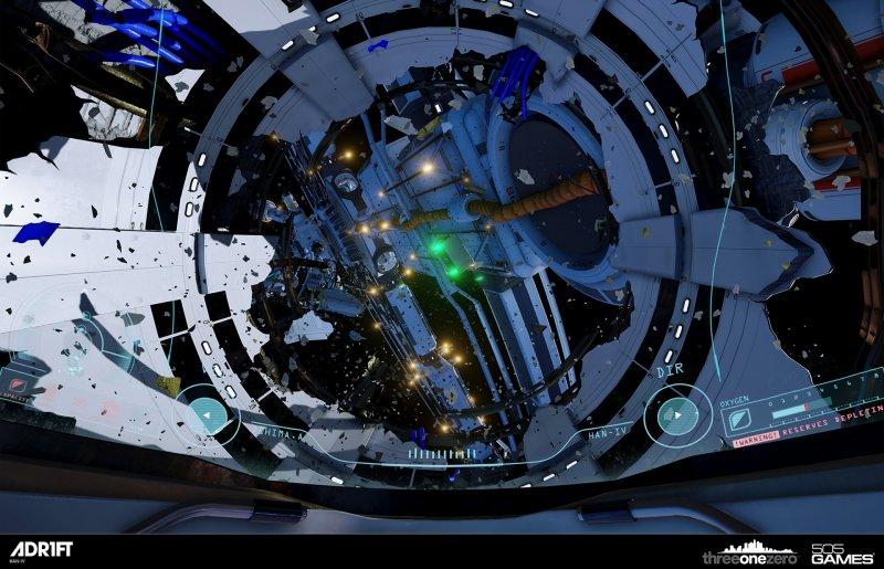 Un viaggio nel vuoto, con Oculus Rift