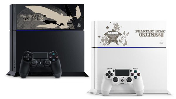 Due PlayStation 4 a tema Phantasy Star Online 2 in Giappone