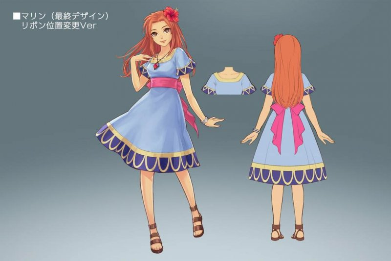 Marin di Zelda: Link's Awakening si aggiungerà al cast di Hyrule Warriors Legends