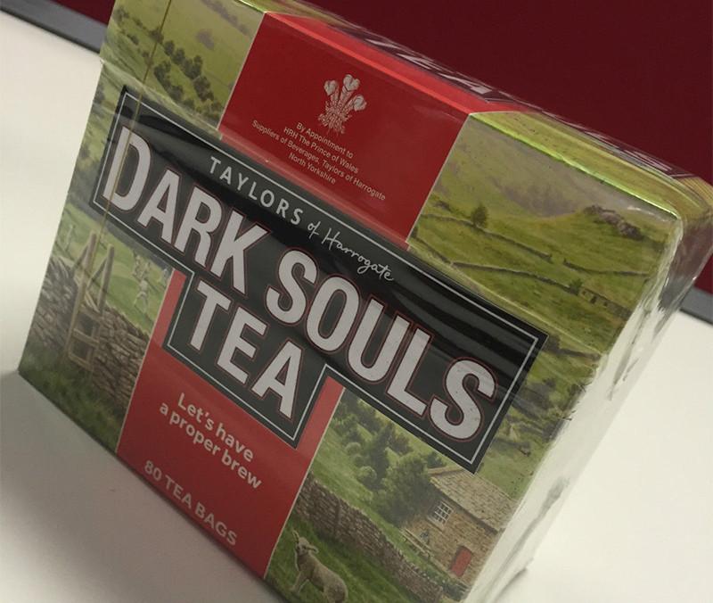 Il tè ufficiale di Dark Souls venduto a oltre 300 sterline su eBay