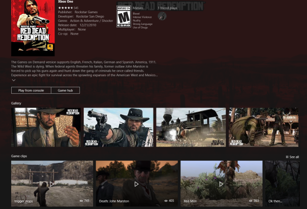 Red Dead Redemption è in arrivo nel catalogo dei retrocompatibili di Xbox One