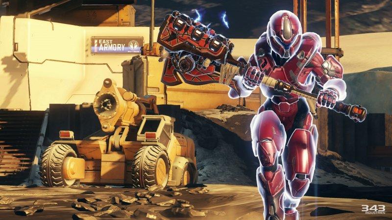 Halo 5: Guardians, il DLC Ghosts of Meridian è disponibile da oggi