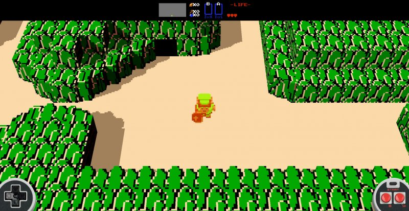 Un gruppo di fan ha ricreato il The Legend of Zelda originale con grafica voxel rendendolo giocabile via browser
