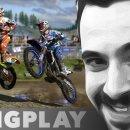 Mattia nel fango con il Long Play di MXGP 2