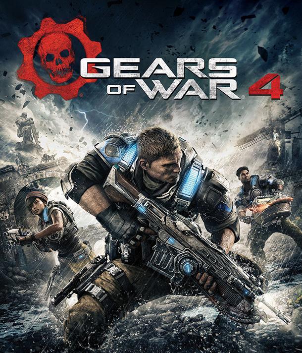 Annunciata la data d'uscita di Gears of War 4, ecco la copertina