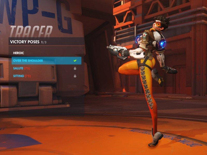 Blizzard ha cambiato la posa di vittoria di Tracer di Overwatch