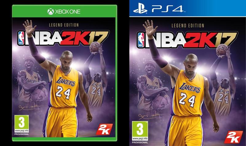 Annunciata la Legend Edition di NBA 2K17, sarà dedicata alla carriera di Kobe Bryant