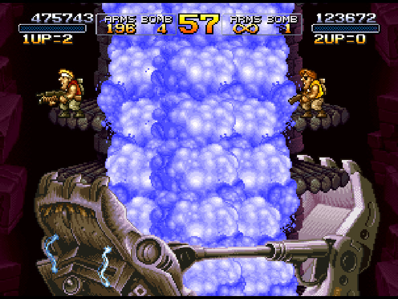 Metal Slug 2 disponibile su Steam