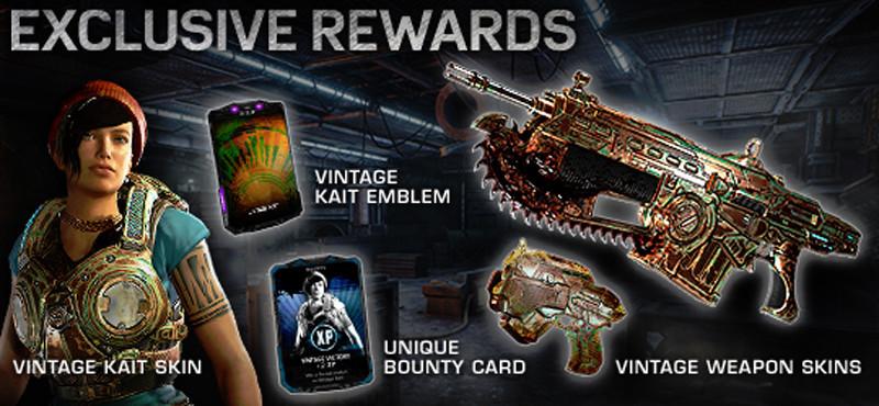 Confermati i bonus per Kait di Gears of War 4 per chi raggiunge il livello 20 nella beta