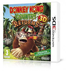 Donkey Kong Country Returns 3D per Nintendo 3DS