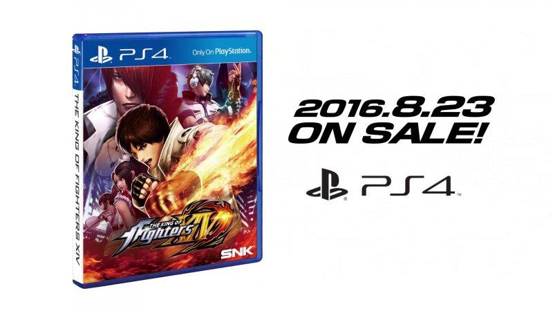 Ecco la copertina ufficiale americana di The King of Fighters XIV