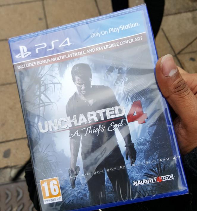 Spuntano copie di Uncharted 4: Fine di un Ladro nel Regno Unito