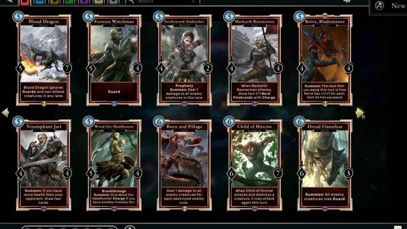 Le carte di Nirn