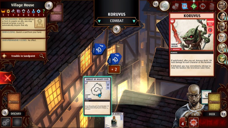 Disponibile Pathfinder Adventures, free-to-play mobile di Obsidian Entertainment
