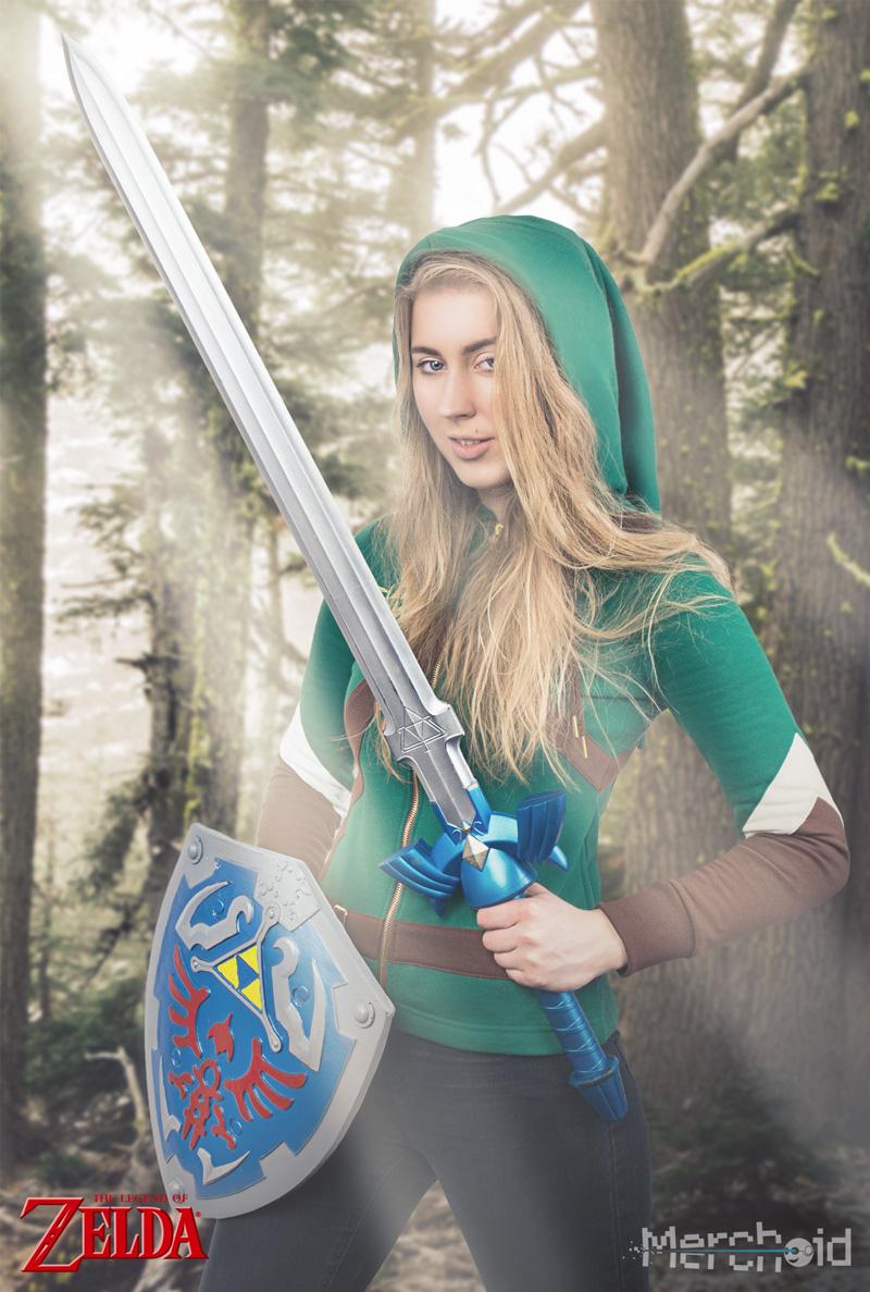 Stanchi di attendere il nuovo The Legend of Zelda? Intanto potete acquistare il merchandise ufficiale
