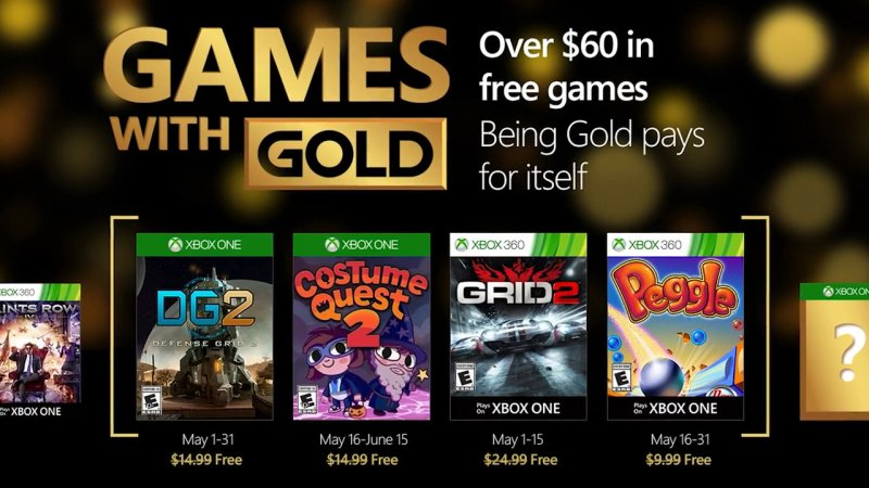 Games with Gold - Maggio 2016