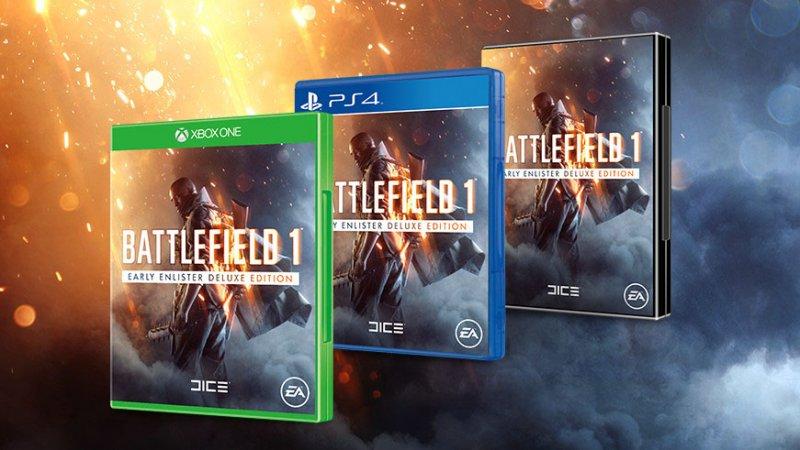 [aggiornata] Le prime immagini e la cover di Battlefield 1