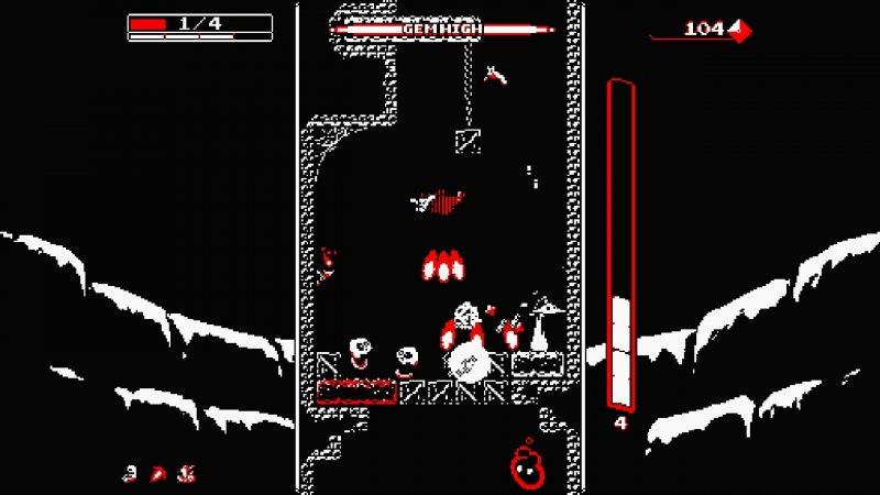 Downwell è ora disponibile anche su PlayStation 4 e PlayStation Vita