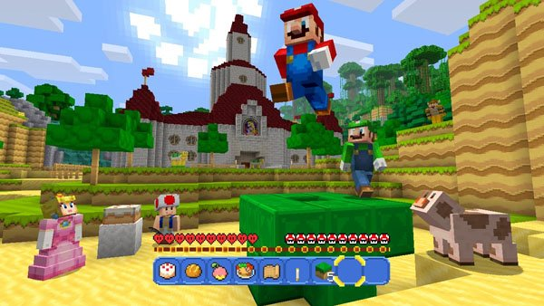 Mario invade il mondo di Minecraft in versione Wii U con il Super Mario Mash-Up Pack