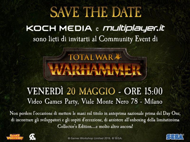 Koch Media e Multiplayer.it presentano Total War: Warhammer
