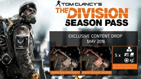 Un'occhiata ai contenuti di maggio di Tom Clancy's The Division