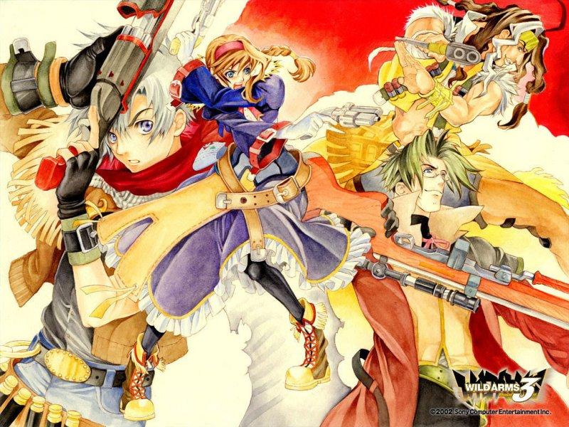 Wild Arms 3 emulato per PlayStation 4