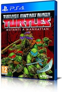 Teenage Mutant Ninja Turtles: Mutanti a Manhattan per PlayStation 4