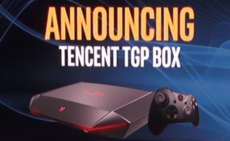 Tencent ha annunciato TGP BOX, una console basata su Windows 10