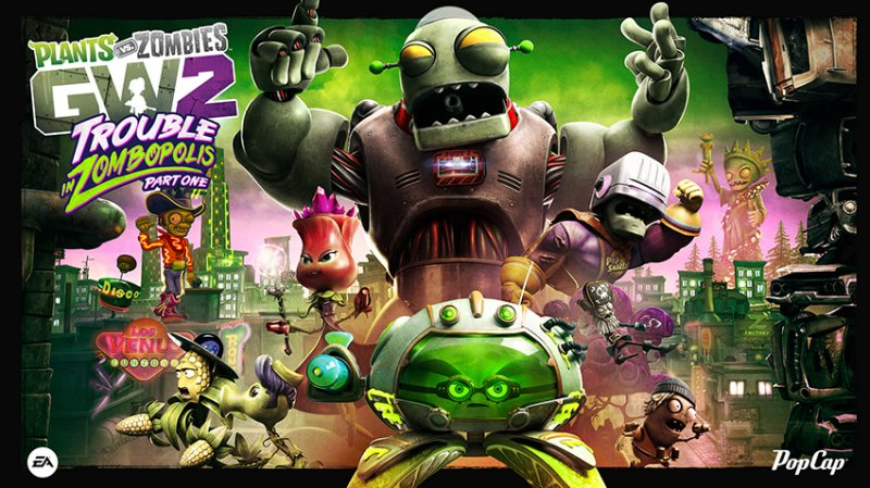 Un grosso aggiornamento estivo per Plants vs. Zombies: Garden Warfare 2