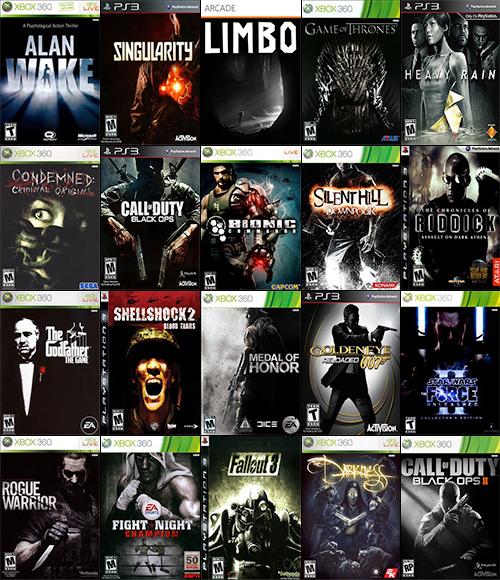 A quanto pare le copertine dei videogiochi sono piene di stereotipi