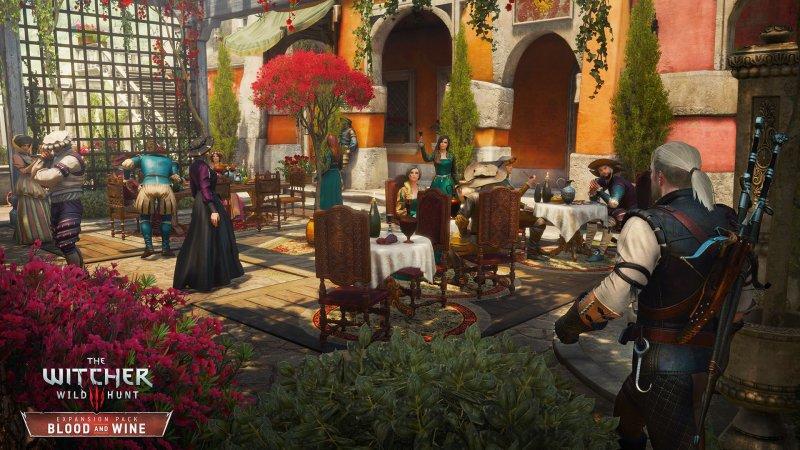 Nelle cantine di Geralt