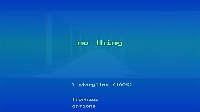 NO THING - Surreal Arcade Trip