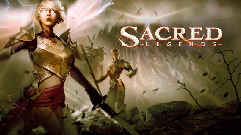Sacred arriva sulle piattaforme mobile con Sacred Legends