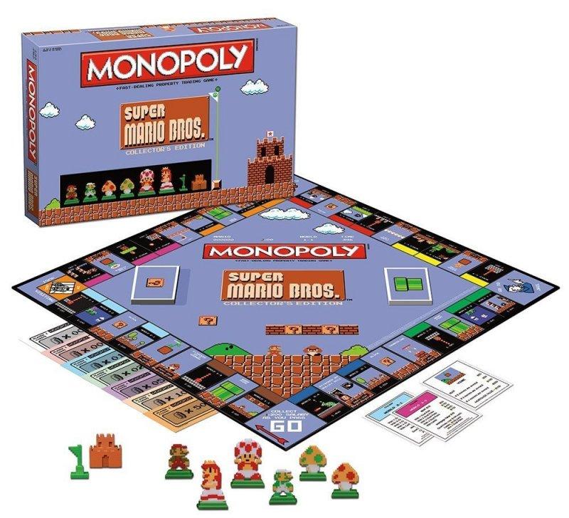 Ora anche Super Mario Bros. ha una sua edizione del Monopoli