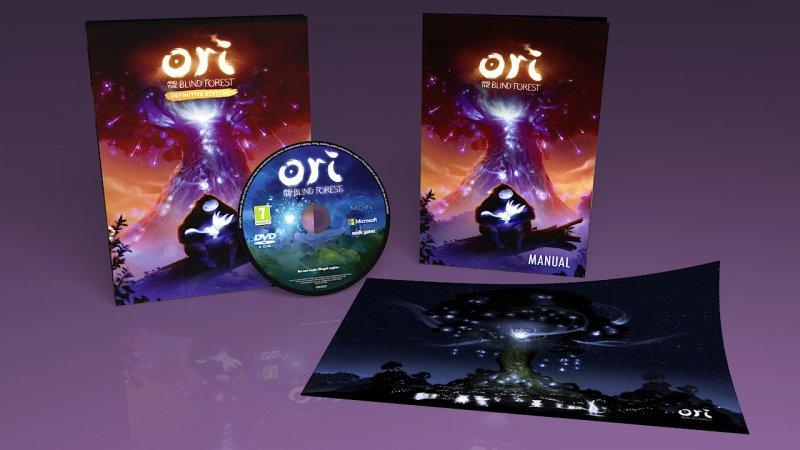 Ori and the Blind Forest: Definitive Edition arriva anche in retail, con scatola, pubblicato da Nordic Games