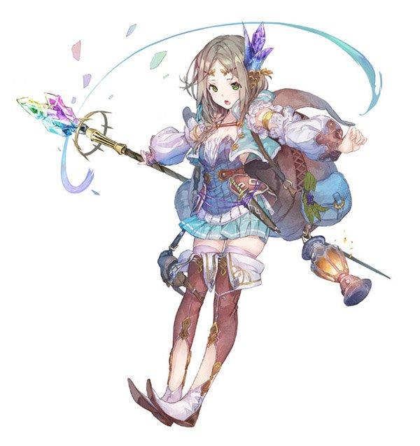Annunciato Atelier Firis: Alchemist of the Mysterious Journey