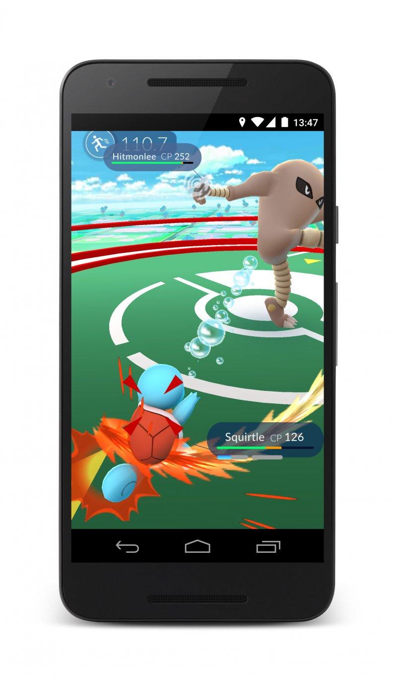 Lo smartphone di un Pokémon Master
